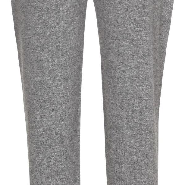 Cashmere bukser - Grå - Dame hygge bukser
