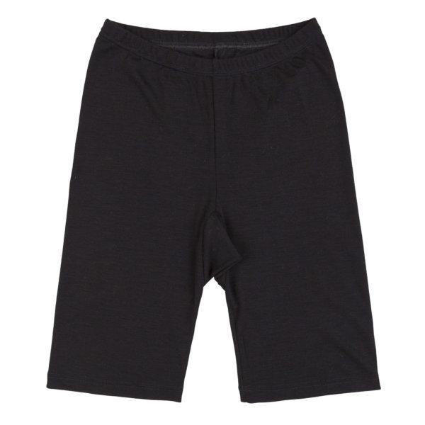 Joha uld-silke shorts sort -0