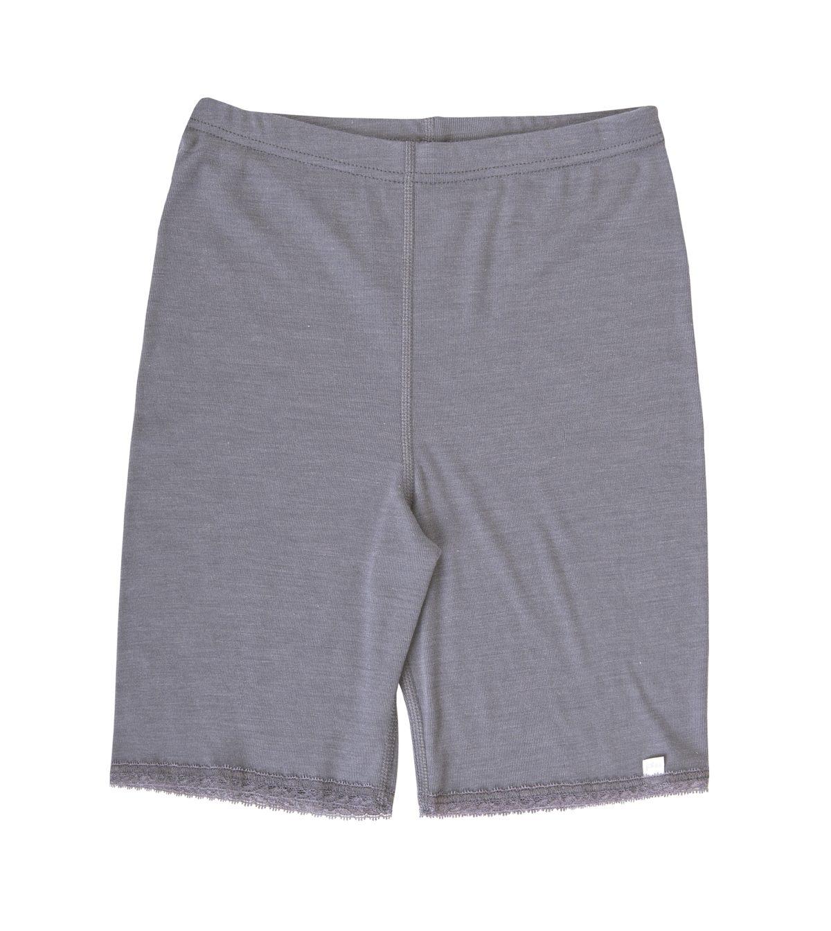 Joha uld silke shorts grå -0