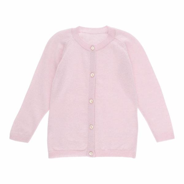 Minilux cashmere cardigan babypink