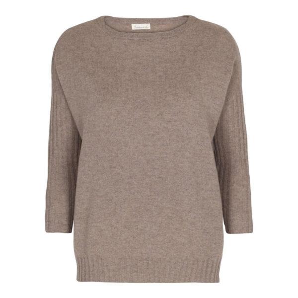 Scandinavianlux oversize cashmere pullover beige