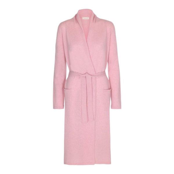 Scandinavianlux cashmere kimono - baby pink