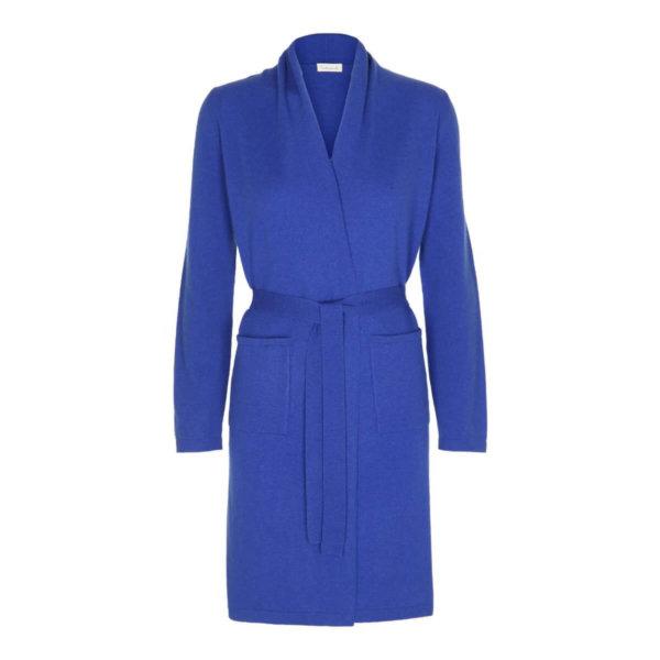 Scandinavianlux cashmere kimono blå