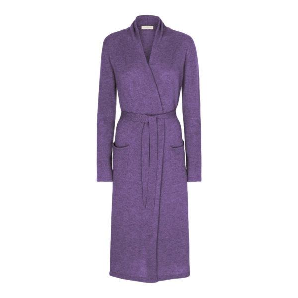 Scandinavianlux cashmere kimono lilla