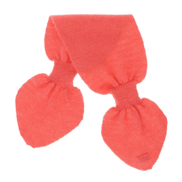 Minilux cashmere tørklæde fersken-0
