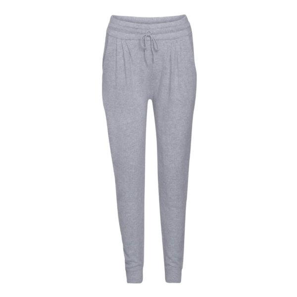 Scandinavianlux cashmere hygge bukser lysegrå-0