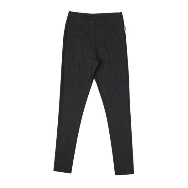 Joha uld-silke leggings sort