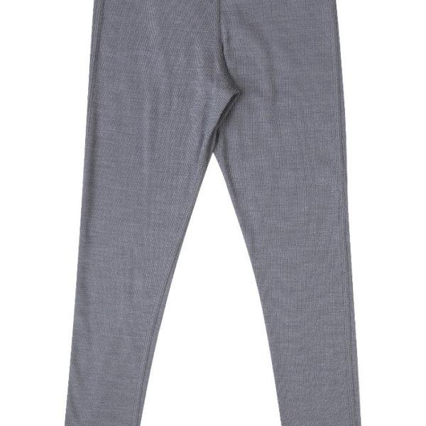 Joha uld-silke leggings grå -0