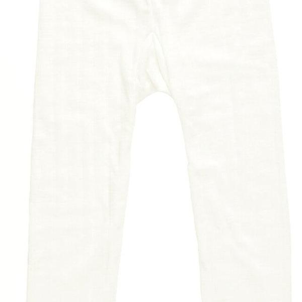 Joha uld-silke leggings naturhvid-0