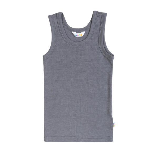 Joha uld-silke undertrøje grå -0