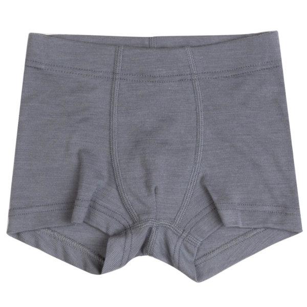 Joha uld-silke boxershorts grå -0