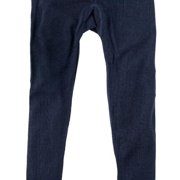 Joha uld leggings blå-0