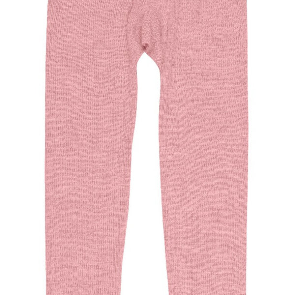 Joha uld leggings rosa -0