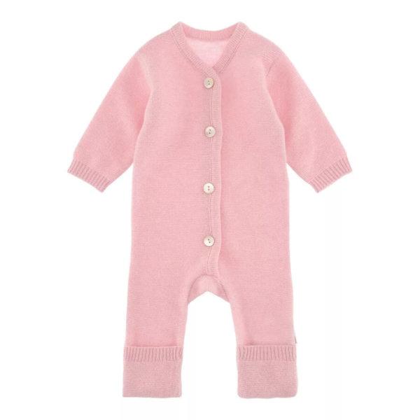 Minilux cashmere heldragt baby pink-0