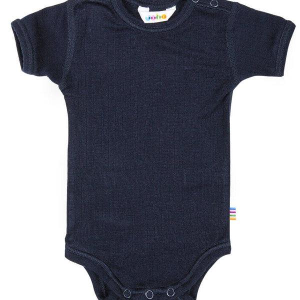 Joha body med korte ærmer mørkeblå -0