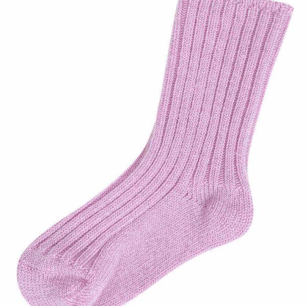 Joha uld sokker lavendel-0