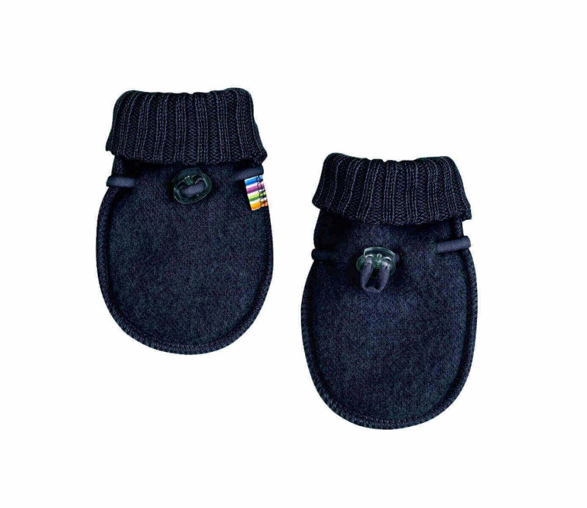 Joha OEKO TEX® børstet uld luffer, 100% merino uld i beige til børn hos Scandinaivanlux.com