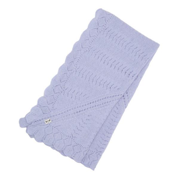 Minilux cashmere baby tæppe lavendel