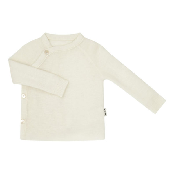 Minilux cashmere pullover naturhvid-0