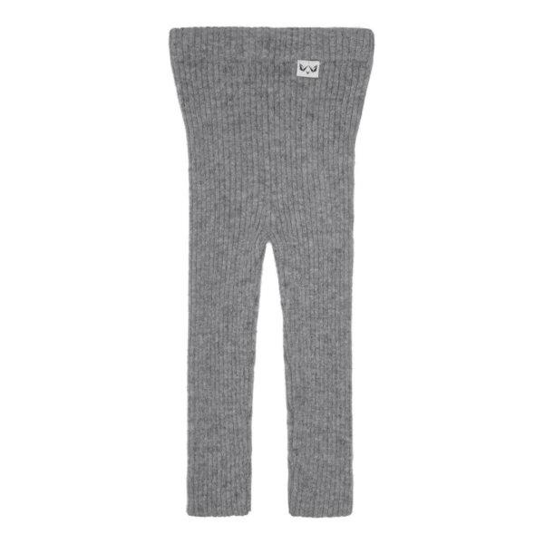 Minilux cashmere rib leggings grå-0