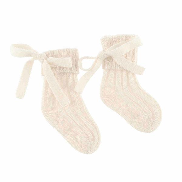 Minilux lavendel cashmere sokker hos Scandinavianlux.com