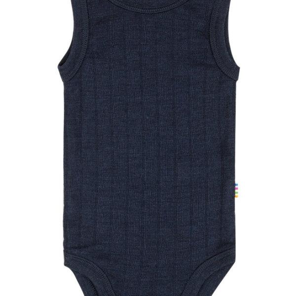 Joha uld silke bodystocking mørkeblå-0