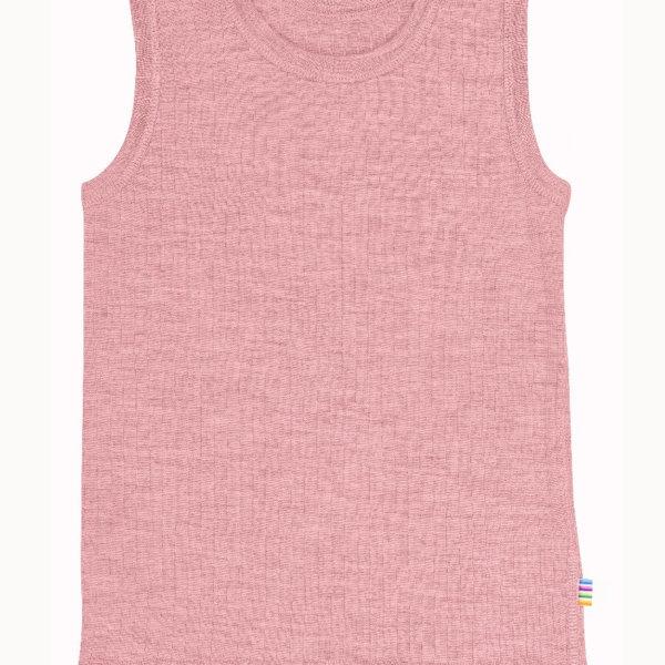 Joha uld undertrøje i rosa-0