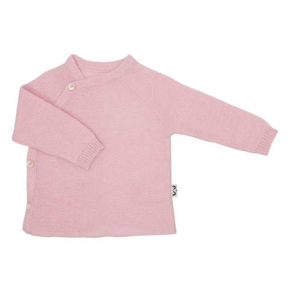 Minilux cashmere pullover baby lyserød-0