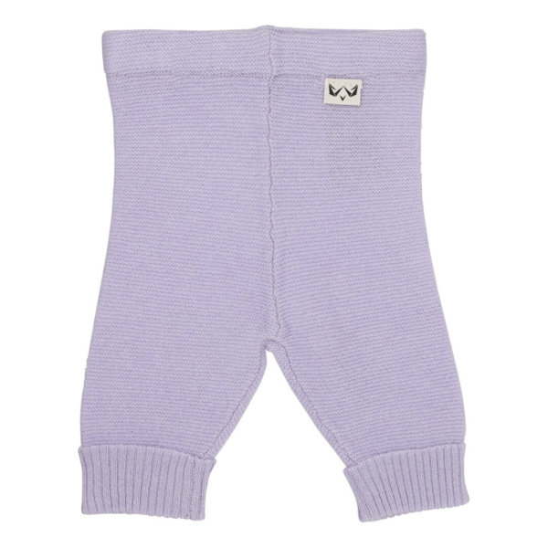 Minilux cashmere bukser lavendel-0