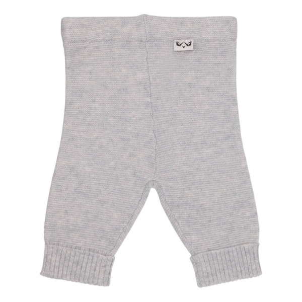 Minilux cashmere bukser lysegrå-0