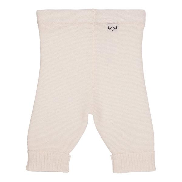 Minilux cashmere bukser naturhvid-0