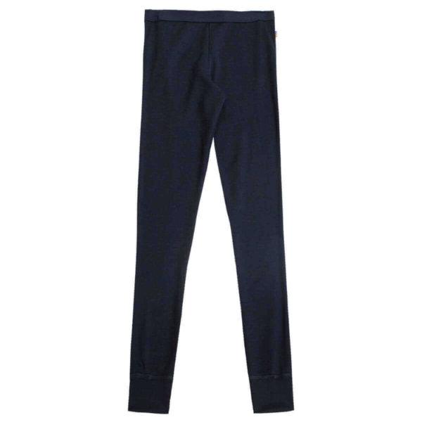 Joha uld bukser i mørkeblå-0