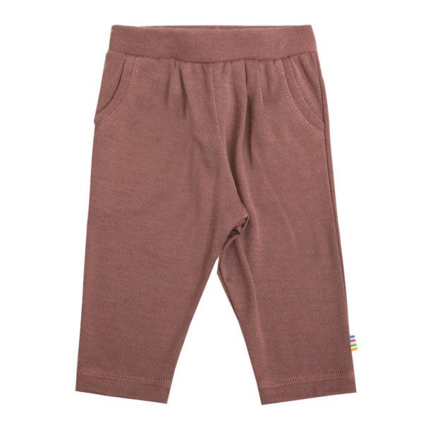 Joha uld bukser i blommefarvet-0