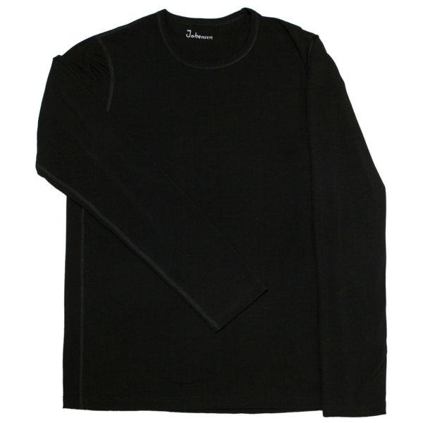 Johansen bambus langærmet t-shirt sort