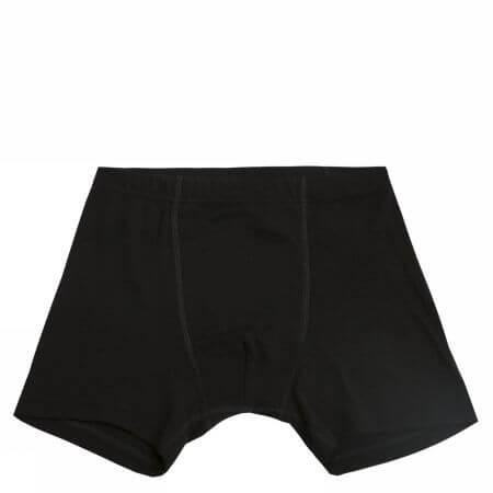 Johansen uld-silke boxershorts sort