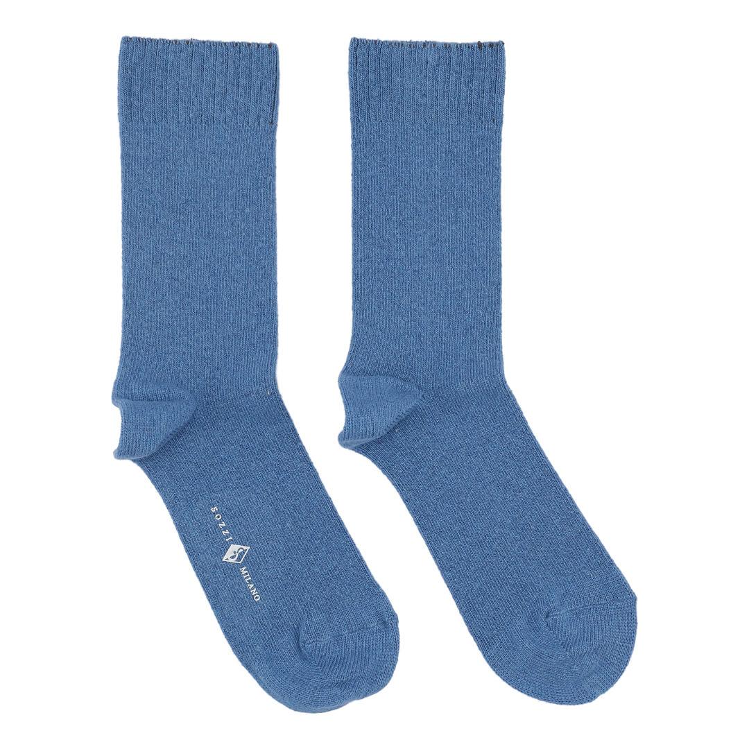 Cashmere strømper til kvinder blå