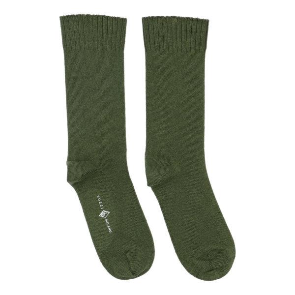 Cashmere strømper til kvinder grøn