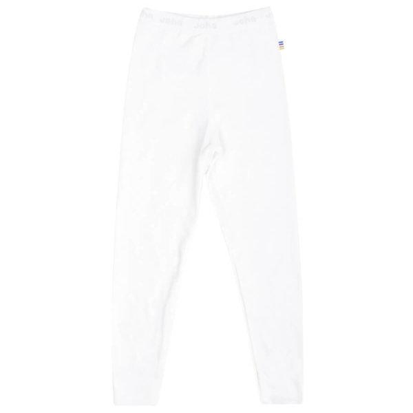Joha økologisk bambus leggings-natbukser hvide