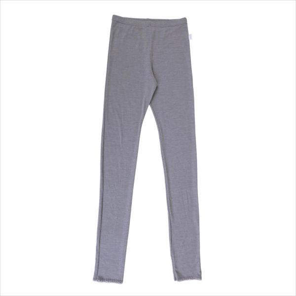 Joha uld silke leggings grå