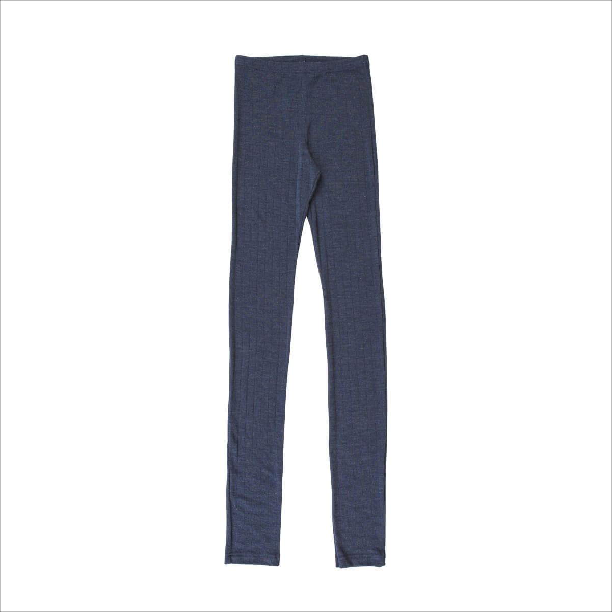 Joha uld silke leggings blå