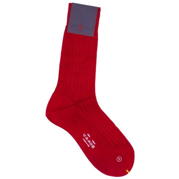 Cashmere strømper til kvinder røde