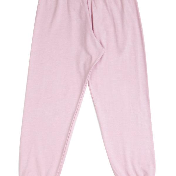 Joha økologisk bambus pyjamasbukser i lyserød