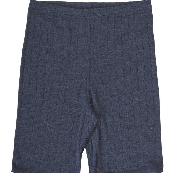 Joha uld silke shorts blå