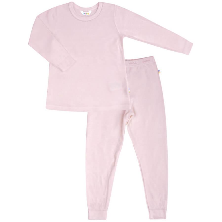 Joha økologisk bambus pyjamas i lyserød