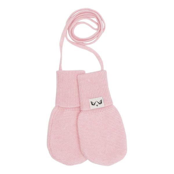Cashmere luffer til din baby I lyserød