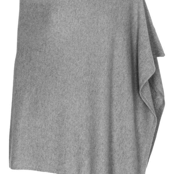 Scandinavianlux cashmere poncho grå