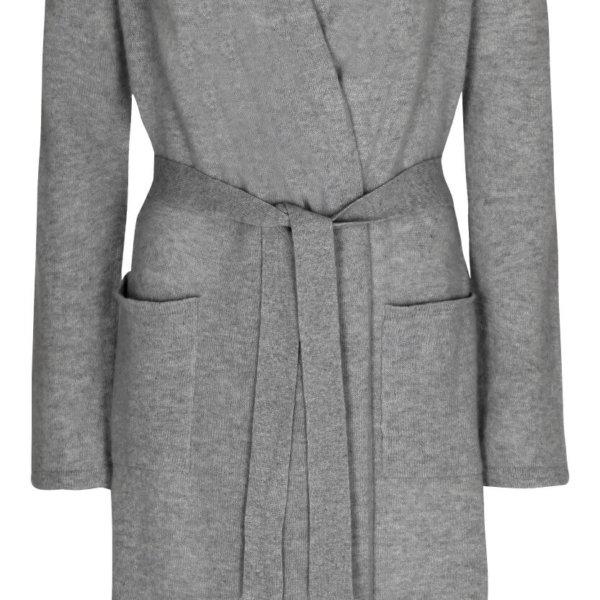 Scandinavianlux cashmere kimono grå